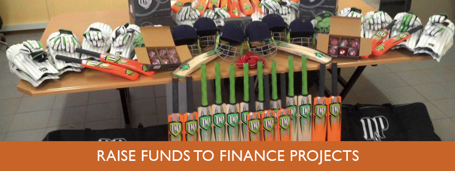 Raise funds to finance projects